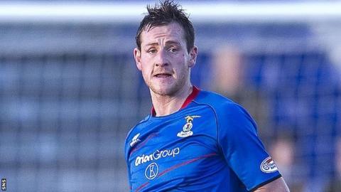 Inverness CT defender Gary Warren