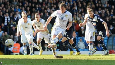 Leeds defender Stephen Warnock