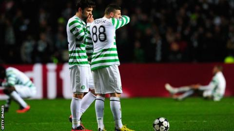 Celtic lost 3-0 in the first leg against Juventus