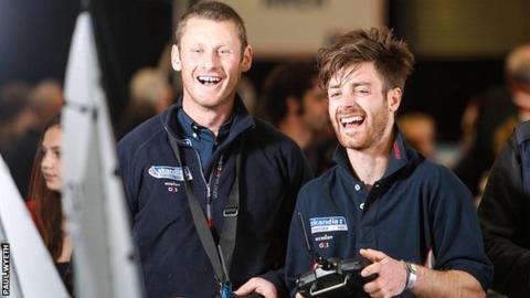 Joe Glanfield (left) and Luke Patience