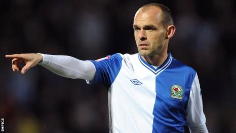 Blackburn Rovers captain Danny Murphy