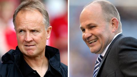 Sean O'Driscoll and Andy Robinson