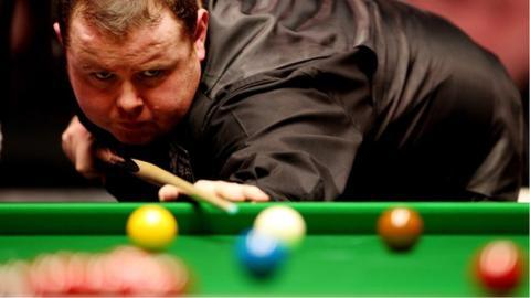 Snooker player Stephen Lee
