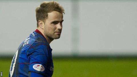 Inverness CT midfielder Andrew Shinnie