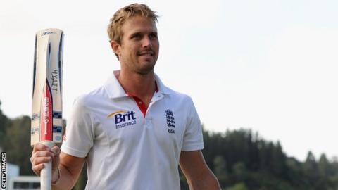 England's Nick Compton