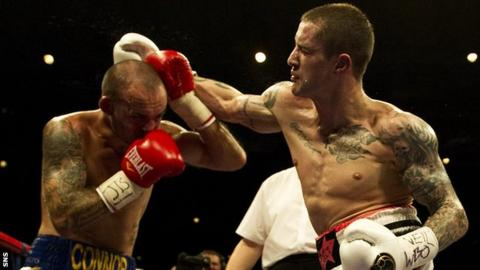 Ricky Burns (right) has not fought since September