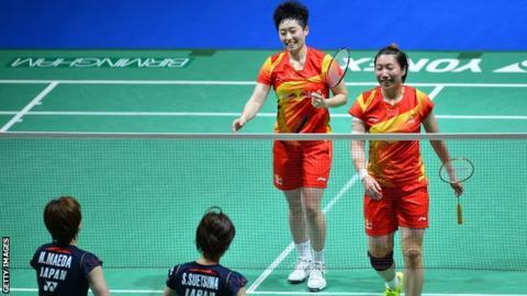 Yu Yang and Wang Xiaoli
