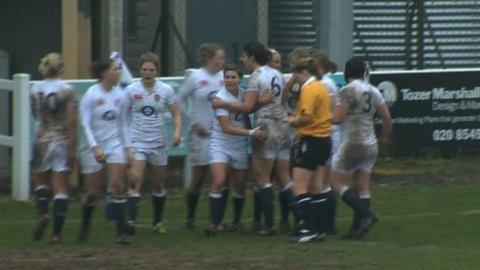 England women back to winning ways