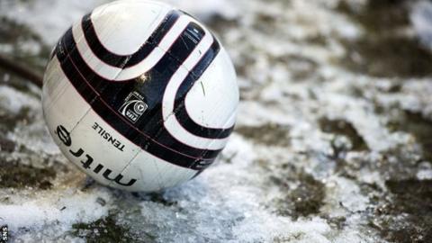 Frozen ball