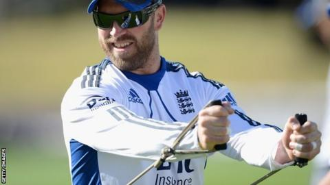 England wicketkeeper Matt Prior