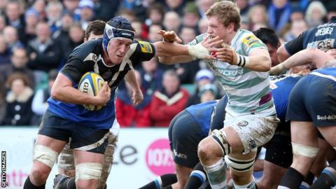 Ben Skirving in action for Bath