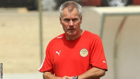 New England Under-20 coach Peter Taylor