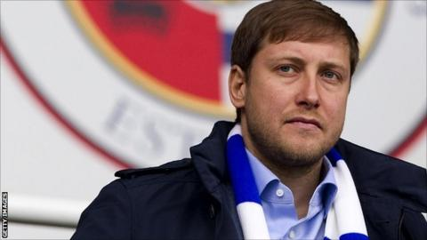 Reading owner Anton Zingarevich