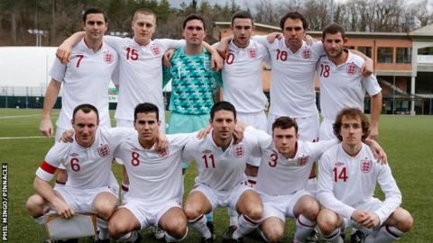 Jersey have just returned from representing England at the Uefa Regions Cup
