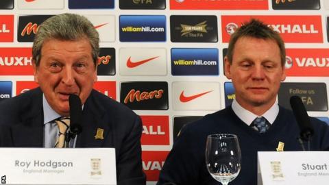 Roy Hodgson (left) and Stuart Pearce