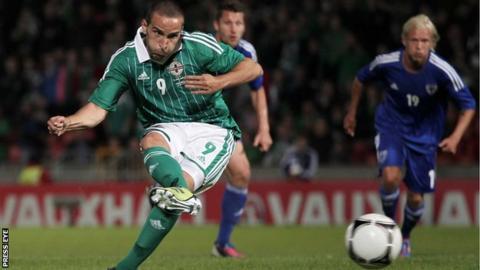 Northern Ireland striker Martin Paterson
