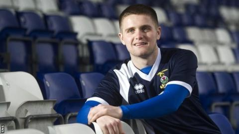 Inverness CT defender Danny Devine