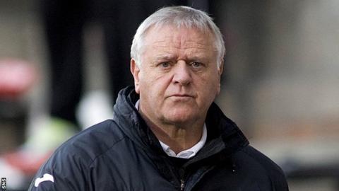 Dunfermline manager Jim Jefferies