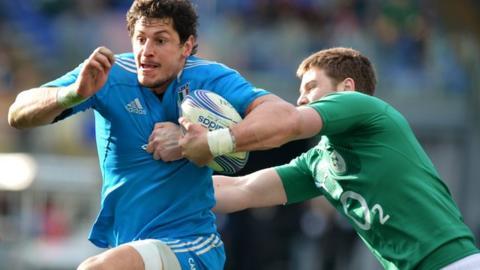 Italy 22-15 Ireland