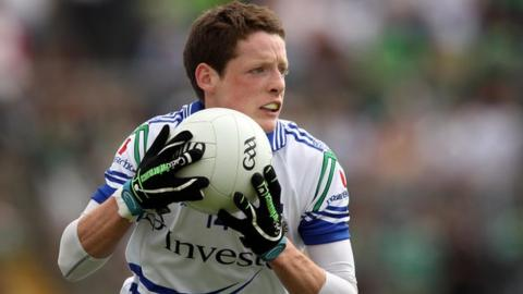 Conor McManus scored two goals for Monaghan against Wicklow