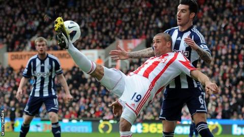Stoke v West Bromwich Albion