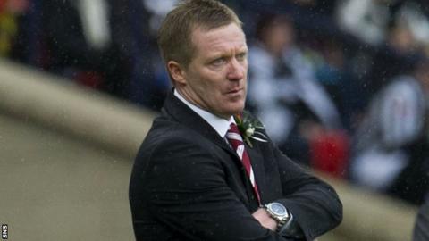 Hearts boss Gary Locke