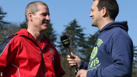 Stuart Lancaster talks to Alastair Eykyn