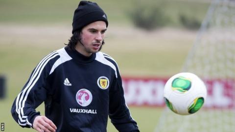 Scotland winger George Boyd