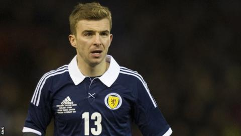 Scotland midfielder James Morrison