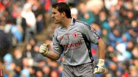 Tyrone goalkeeper John Devine