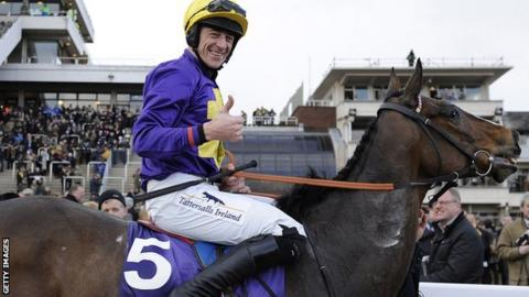 Davy Russell on Lord Windermere