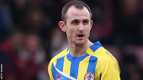 Accrington Stanley striker Francis Jeffers