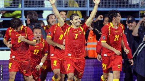 Резултат с изображение за montenegro football team