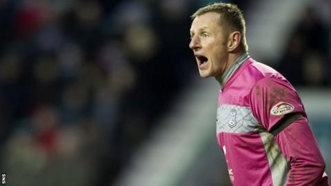 Dundee goalkeeper Rab Douglas