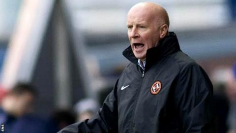 Former Dundee United manager Peter Houston