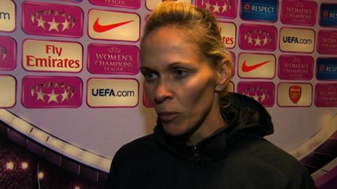 Arsenal Ladies manager Shelley Kerr