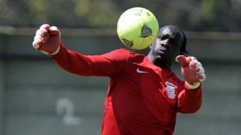 Zambia keeper Kennedy Mweene