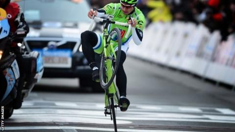 Peter Sagan wins Gent-Wevelgem