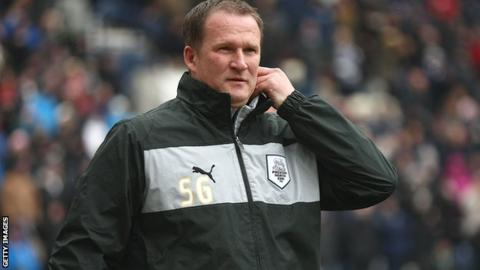 Preston North End manager Simon Grayson