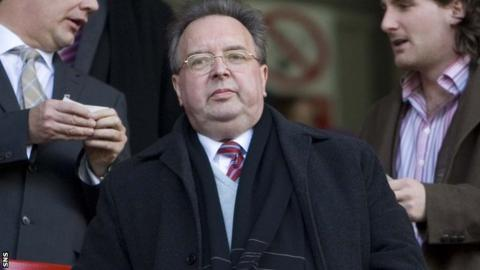 Gavin Masterton owns more than 90% of shares in Dunfermline Athletic