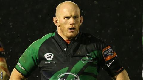Former Ireland flanker Johnny O'Connor