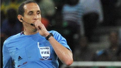 Tunisian referee Slim Jdidi