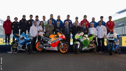 MotoGP riders of 2013