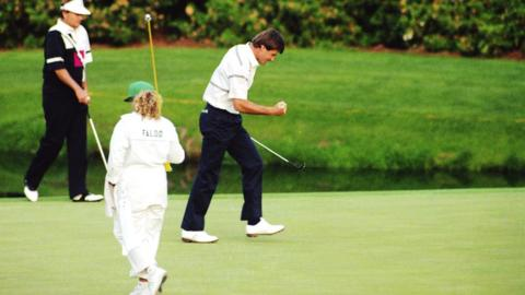 Nick Faldo retains his Masters title