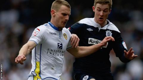 Leeds United defender Tom Lees