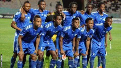 Sierra Leone football team