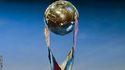 The Under-17 World Cup trophy
