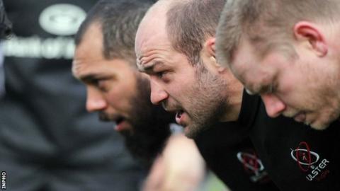 John Afoa in Ulster's front row