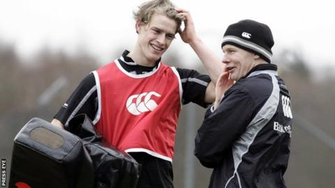 Mark McCall and Andrew Trimble