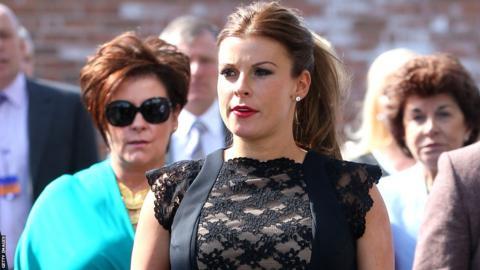 Wayne Rooney's wife Coleen